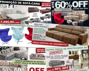 facebook e banner de site pé de sofá
