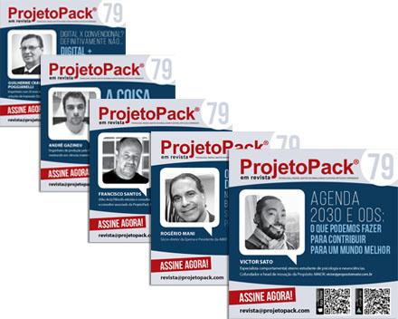 posts revista projeto pack