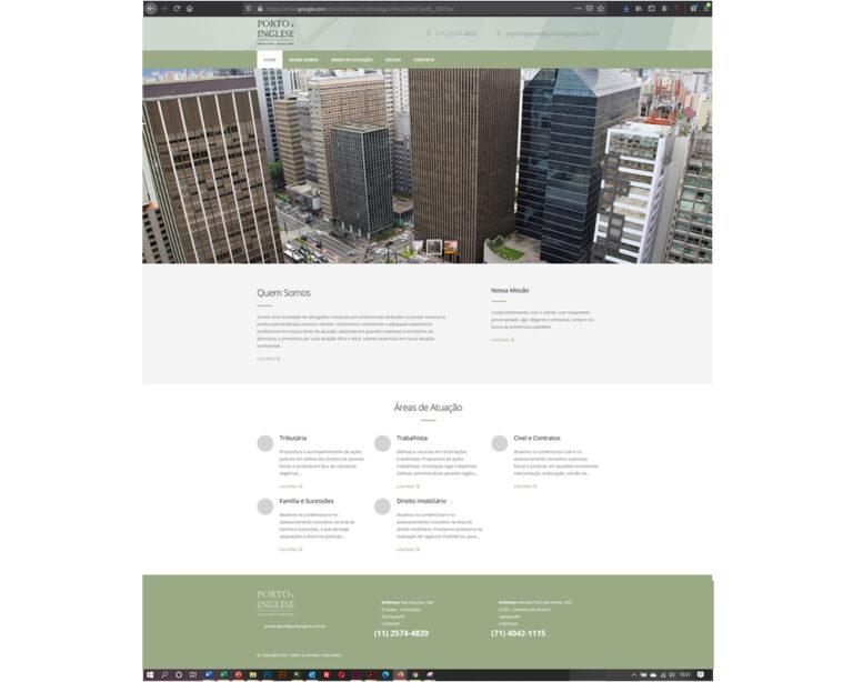 site porto & inglese advogados associados